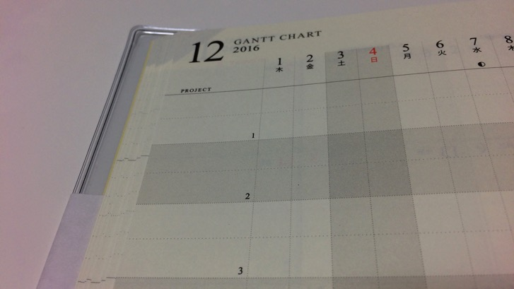 161107 gantt chart diary 16