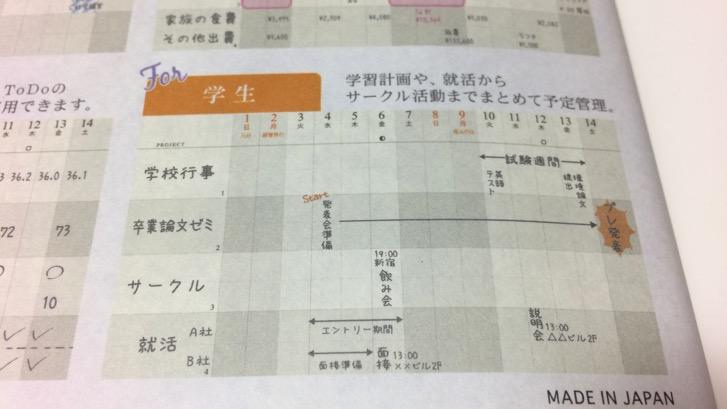 161107 gantt chart diary 7
