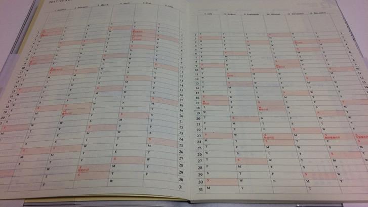 161107 gantt chart diary 9